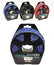 Noor - Cuerda multiusos (fibra de plástico, bobina de 0,5 mm de grosor, 10 m de largo), color negro