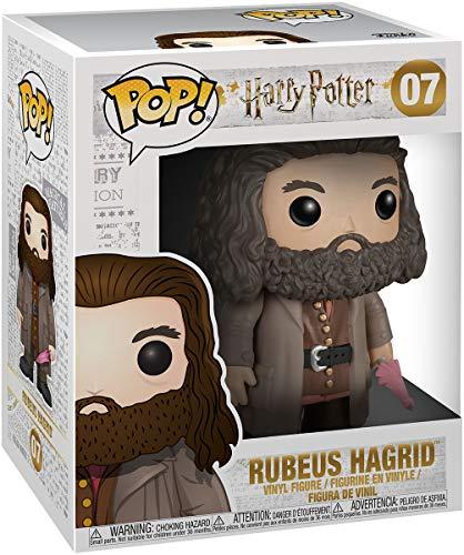 "Funko- Harry Potter: 6"" Rubeus Hagrid Figurina de Vinilo, Multicolor, Standard (5864)"