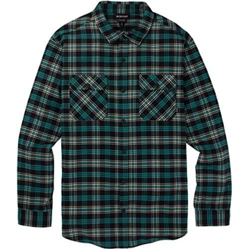 Burton Herren Hemd M Brighton PERF FL, Größe:S, Farben:Green-Blue Plaid