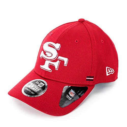 New Era 9Forty 49ers Sideline Alt Cap Basecap Baseballcap Curved Brim NFL-Cap San Francisco (One Size - rot)