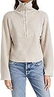 Line & Dot Women's Emily Half Zip Sweater