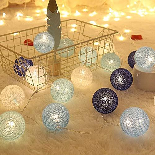 Guirnalda de Luces de Algodón, 3M Cadena de Luces para Algo