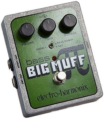 Electro Harmonix Bass Big Muff Bass Big Muff - Pedal de distorsión para bajo, color plateado