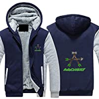 アーチェリースポーツボウアロー(7). 全ジッパー保温にベルベットを厚 毛を入れる ジャケット パーカー フルジッベットセーター