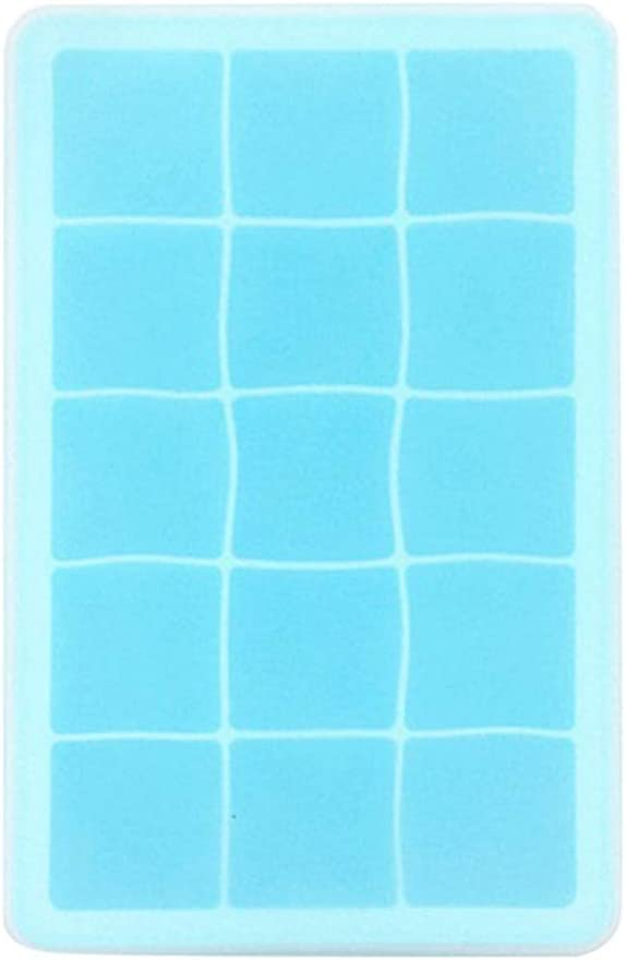 FENXIXI 15 Oklahoma City Mall Grid Food Grade Silicone I Topics on TV Ice Mold Shape Cube Square