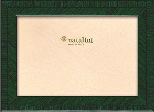 Natalini BIANTE VERDONE 20X25 Bilderrahmen mit Unterstützung für Tisch, Tulipwood, Dunkelgrün, 20 X 25 X 1,5
