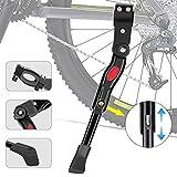 Linkax Pata de Cabra para Bicicleta,Soporte de Bicicleta de Altura Ajustable Adecuado para Bicicleta de Montaña Bicicleta de Carretera Bicicleta para Bicicleta de Niños Bicicleta de Plegable