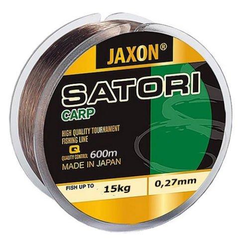 Jaxon Angelschnur Satori CARP 600m Spule Monofile Karpfen Schnur (0,35mm / 23kg)