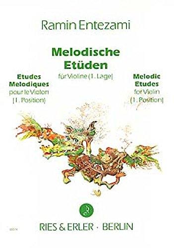 Entezami. Melodiques Viool etudes 1e positie.