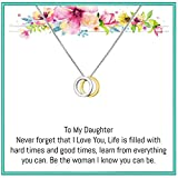 OnePurposeGifts to My Daughter Gifts Daughter Birthday Gifts, Gold, Size No Size