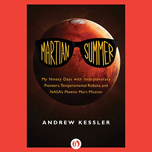 Martian Summer audiobook cover art