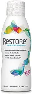 RESTORE Promotes Gut-Brain Health | Digestive Wellness, Immune Function, Gluten Sensitivity, Mental Clarity | 1-Month Supply