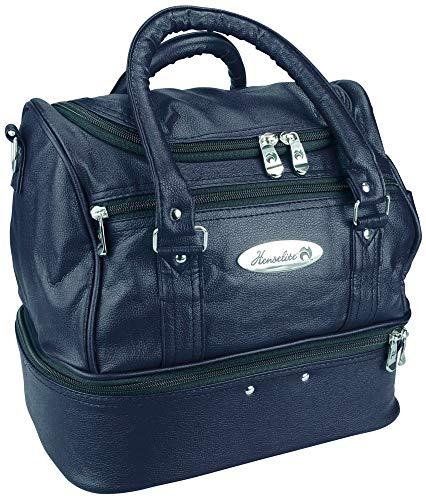 Henselite Tasche für Bowlingkugeln und Zubehör 33x24x30 cm Kunstleder Marineblau