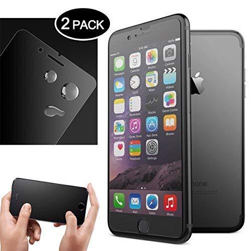 Dexnor [2 unidades] Protector de Pantalla para iPhone 7 Plus/iPhone 8 Plus, Cristal Vidrio Templado Premium, 9H Dureza, Alta Definicion 0.33mm, 99% Transparente 3D Touch Compatibles