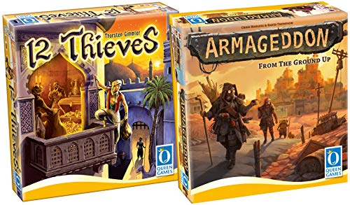 Queen Games Bundle 0252 - Armageddon + 12 Thieves