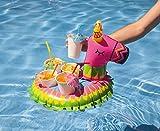 Flotadores posavasos hinchables para piscina en forma de Piñata