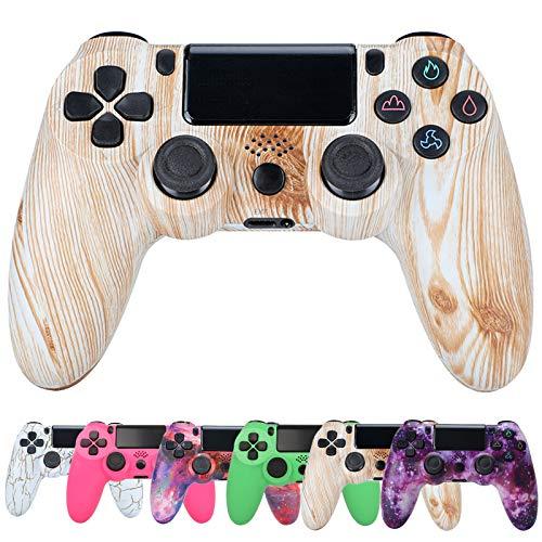 QLOVE Mandos PS4 Inalambricos, Controlador PS4 Inalámbrico Dual Shock Gamepad de Doble Vibración Six-Axis con...