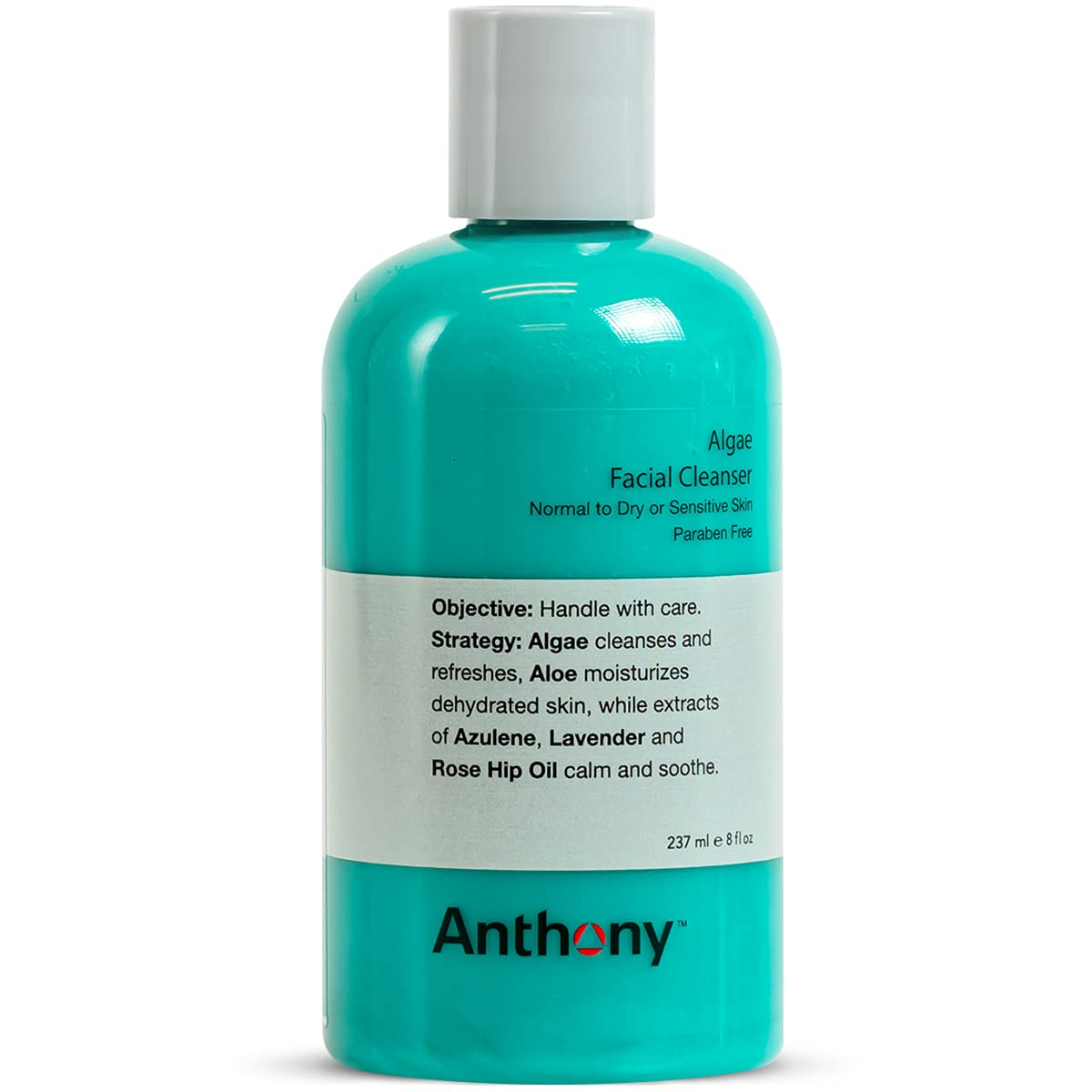 Anthony Algae Facial Cleanser 8 Contains National uniform free shipping Ver Aloe Oz. Special price for a limited time Fl
