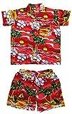CLUB CUBANA Conjunto de camisas y pantalones cortos hawaiano