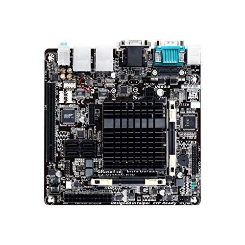 GIGABYTE N3160N-D3V, Intel,N3160,Intel SOC,2DDR3,8GB,VGA+DVI,2GBLAN,4SATA3,4USB3,MITX