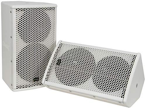 Citronic cx-8088W QTX-2-Wege Passiv Lautsprecher System–weiß
