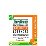 DENTIST FORMULATED DRY MOUTH LOZENGES: TheraBreath Dry Mouth Lozenges have been formulated by dentists and work in three stages to make sure your mouth is moist, fresh, and healthy. Our lozenges are certified vegan and gluten-free and contain only he...