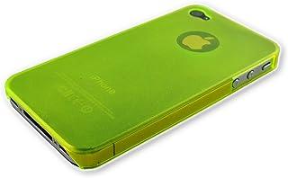 Xcessor Dark Magic Ultra Thin Hard Plastic Case for iPhone 4/4S - Yellow/Semi Transparent
