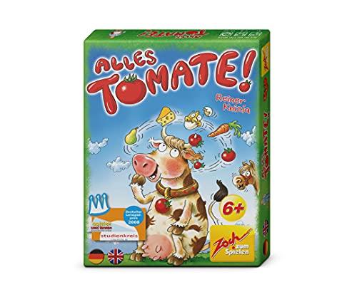 Zoch 601105035 Alles Tomate, Ein rasantes Gedächtnisragout mit ständig wechselnden Zutaten, ab 6 Jahren