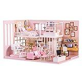 Zwbfu Ensamblar DIY Doll House Toy Miniatura de Kit...
