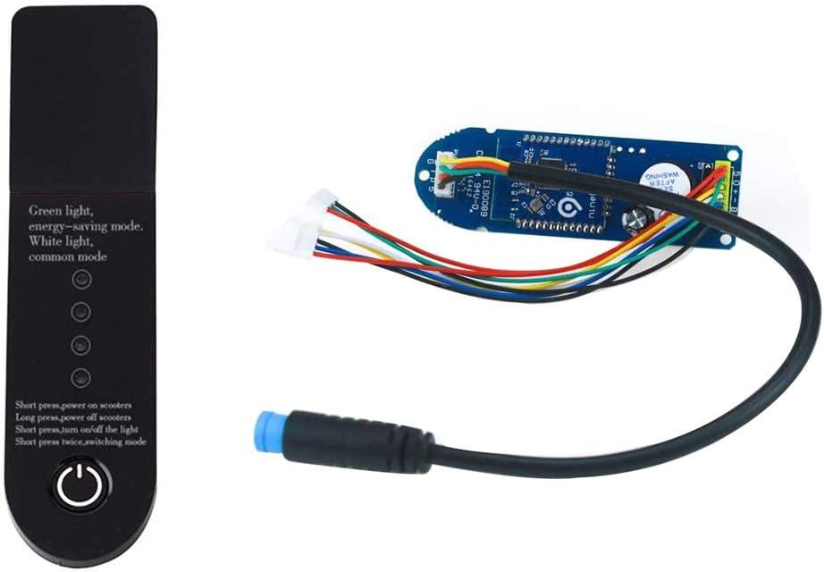 Hieefi Bluetooth Dashboard Tablero De Circuitos para M365 Scooter Eléctrico Scooter Pieza Módulo De Reemplazo Parte Pájaro Pájaro Litio Batería De Litio Tablero De Carga Negro