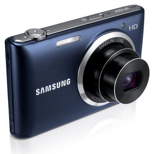 """Samsung ST150F 16.2MP Smart WiFi Digital Camera with 5x Optical Zoom and 3.0"""" LCD Screen (Black)"""