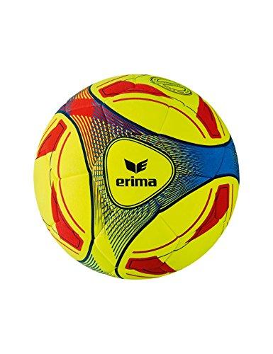 Erima Hybrid Indoor Fussball, gelb/Blau, 4