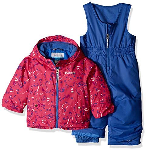 Columbia Kids' Toddler Frosty Slope Set, Pink ice Splatter, 3T