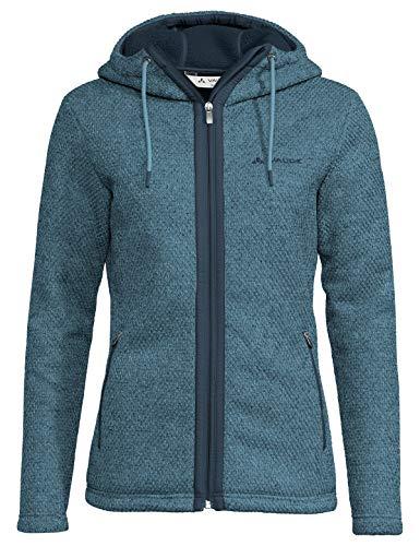 VAUDE Damen Women\'s Skomer Hooded Jacket Jacke, Blue Gray, 40