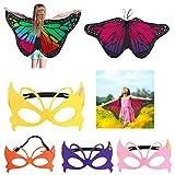 Supercat Kinder Schmetterling Flügel Fee Schmetterling Umhang Kostüme Schmetterling Schal und...