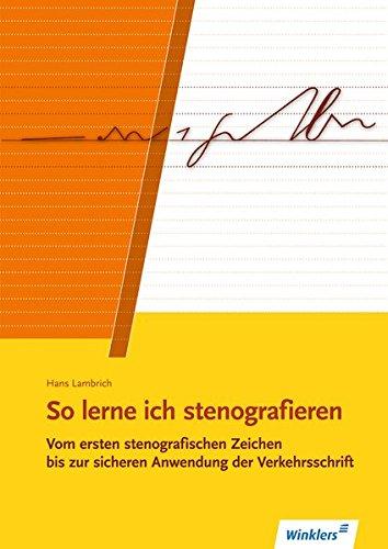 So lerne ich stenografieren: Schülerband