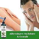 Aloe Vera Gel - 99.75% Organic, 12 oz Great for Face, Hair, Acne, Sunburn, Bug Bites, Rashes, Eczema #3