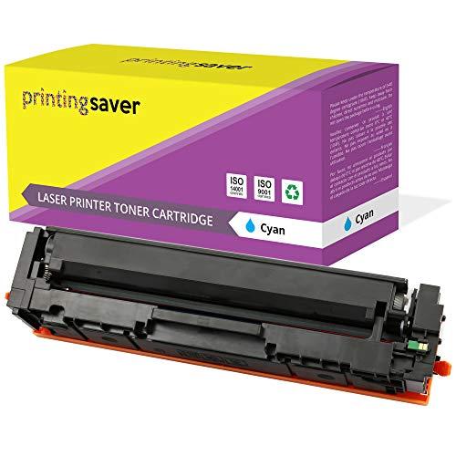 Printing Saver Cyan Toner kompatibel für Canon i-SENSYS MF-631CN, MF-633CDW, MF-635CX, LBP-611CN, LBP-613CDW, imageCLASS MF-632CDW, MF-634CDW, LBP-612CDW drucker