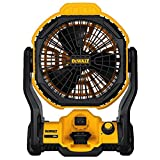 "DEWALT DCE511B 11"" Corded/Cordless Jobsite Fan"