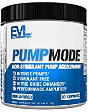 Evlution Nutrition Pump Mode Nitric Oxide Booster to Support Intense Pumps, Performance and Vascularity, 30 Servings