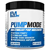 Evlution Nutrition Pump Mode Nitric Oxide Booster to Support Intense Pumps,...