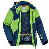 Fifty Five Extrem Skijacke für Herren Saint Andrews Blau Grün