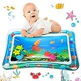 Wassermatte Baby, GUBOOM Wasserspielmatte BPA-frei, Baby Spielzeuge 3 6 9 Monate, 2021 NEW Auslaufsicheres PVC Wassergefüllte Spielmatte für Baby Sensorisches Entwicklung Ausbildung (Tintenfisch)