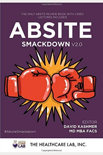 ABSITE Smackdown V2 0 The ABSITE Review Manual With Video Review Course product image