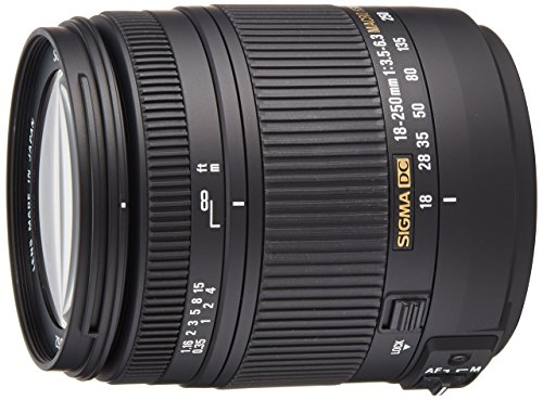 Sigma 18-250mm f3.5-6.3 DC MACRO OS HSM for Canon...