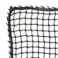 Just For Nets JFN Nylon Golf High Impact Net, 10' x 10', Black