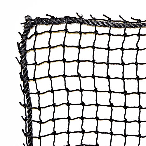Just For Nets JFN Nylon Golf High Impact Net, 10' x 20', Black