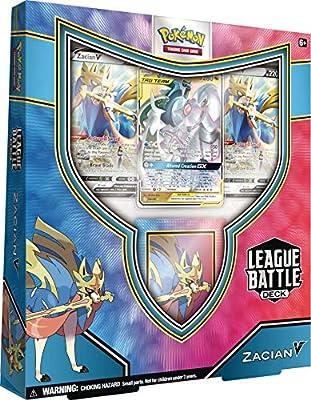 Pokémon TCG: Zacian V League Battle Deck, Colores Variados USA, Inc. 820650807978 de Pokemon USA, Inc.