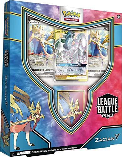 Pokémon TCG: Zacian V League Battle Deck, 820650807978