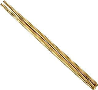 kesoto Reusable Stainless Steel Chopsticks Household Hotel Restaurant Chopsticks - Golden